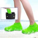 Προστατευτικά Αδιάβροχα & Αντιολισθητικά Καλύμματα Παπουτσιών από Καουτσούκ - Waterproof Silicone Shoe Cover