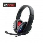 Ακουστικά με Μικρόφωνο Gaming Andowl® On Ear  PS4 & PC Headset - Headphones w/ Microphone for Playstation 4