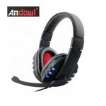 Ακουστικά με Μικρόφωνο Gaming Andowl® On Ear  PS4, X ONE & PC Headset - Headphones w/ Microphone for Playstation 4, Xbox X-one