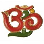 Ξύλινο Σύμβολο Om για Πνευματική Εξύψωση και Ενεργειακή Δύναμη