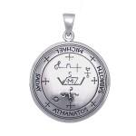 Μικρή Σφραγίδα Αρχαγγέλου Μιχαήλ για Προστασία και Πνευματική Καθοδήγηση Ασήμι 925°