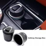 Τασάκι - Ποτηροθήκη Αυτοκινήτου με Φωτάκι - LED 2 in 1 Car Ashtray