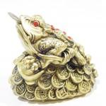 Μεγάλος Χρυσός Βάτραχος για Ευημερία και Πλούτο