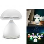 Επαναφορτιζόμενο LED Φωτιστικό Αφής - Πορτατίφ Μανιτάρι - Colorful Mushroom Lamp