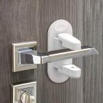 Κλειδαριά - Προστατευτικό για Πόμολο Πόρτας, Συρταριών & Παραθύρων Για Μικρά Παιδιά - Ασφάλεια για Πόρτες - Door Lever Lock