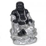 Καθιστός Χαμογελαστός Βούδας Χαράς, Αφθονίας και Ευημερίας 15cm