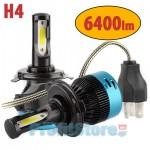Φώτα - Λαμπτήρες Αυτοκινήτου LED Η4 6500Κ 56W (2x28W) 6400LM (2x3200LM) CAN BUS - Car Led Headlights