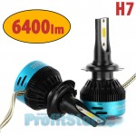 Φώτα - Λαμπτήρες Αυτοκινήτου LED Η7 6500Κ 56W (2x28W) 6400LM (2x3200LM) CAN BUS - Car Led Headlights