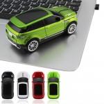 Ασύρματο USB Ποντίκι Αυτοκίνητο 2.4GHZ με LED Φωτισμό Range Rover