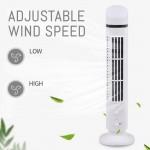 Φορητός Ανεμιστήρας Πύργος USB - Tower Fan Light 2 Speed