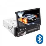 Ενισχυτής Multimedia Οθόνη Αφής 7 inch TFT Αυτοκινήτου Bluetooth 1 DIN - Ηχοσύστημα MP4, MP3, USB, SD, AUX, MIC, TV Κάμερα Parking & Subwoofer Out