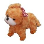Λούτρινος Ηλεκτρονικός Σκύλος με Λουράκι