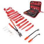 Εργαλεία Αφαίρεσης Ταπετσαρίας & Εσωτερικών Πλαστικών Ταμπλό Αυτοκινήτου Σετ 19 τμχ με Θήκη - Τσάντα Μεταφοράς