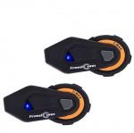Ενδοεπικοινωνία Bluetooth Κράνους Μηχανής Αδιάβροχο για εώς και 6 Χρήστες T-MAX