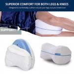 Ανατομικό Μαξιλάρι Ποδιών Ύπνου για Χαλάρωση Καταπονημένων Μυών - Memory Foam Leg Pillow