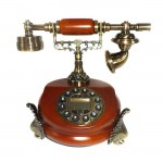 Vintage Τηλέφωνο Αντίκα - Ρετρό Παλαιού Τύπου με Αναγνώριση Κλήσης
