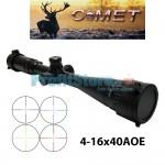 Διόπτρα Μονόκυαλο Σκοπευτικό - Hunting Rifle Scope 4-16x40 AOE illuminated Zoom Comet