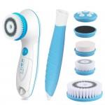 Περιστρεφόμενη Βούρτσα Σώματος & Προσώπου  5 σε 1 με 5x Εξαρτήματα Spa - Facial Body Cleanser Brush