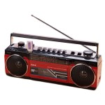 Φορητό Ραδιοκασετόφωνο - Μαγνητόφωνο USB/SD Mp3 Player, Ρεύματος - Μπαταρίας CmiK MK-132BT  Cassette Player