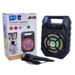 Φορητό Ασύρματο Ηχείο CS-19 SUPER BASS - Ηχοσύστημα Bluetooth LED USB/SD/AUX, MIC In Καραόκε & FM Radio - Multimedia Player