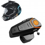 Ενδοεπικοινωνία Bluetooth 1000m Ακουστικό για το Κράνος Αδιάβροχο BT-S2