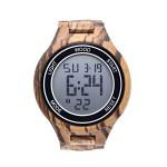 Ξύλινο Ψηφιακό Ανδρικό Ρολόι - Wooden Man Watch ΚΤ211