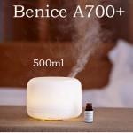 Υγραντήρας Υπέρηχων 4 σε 1 Ιονιστής, Αρωματοθεραπεία, Καθαρισμός Αέρα & Πολύχρωμο Φωτιστικό - Aroma Diffuser Benice 500ml