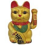 Χρυσή Γάτα Καλωσορίσματος - Feng Shui Welcome Cat 25cm