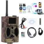 Αδιάβροχη Trail Κυνηγετική Κάμερα Καταγραφής Full HD 1080p 16MP με Ανίχνευση Κίνησης, Νυχτερινή Λήψη, SIM κάρτα για Αποστολή MMS Video, Οθόνη LCD