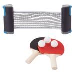 Πλήρες Επιτραπέζιο Ρυθμιζόμενο Σετ Πινγκ Πονγκ - Retractable Table Tennis Set