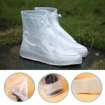 Προστατευτικά Αδιάβροχα & Αντιολισθητικά Καλύμματα Παπουτσιών από Καουτσούκ με Φερμουάρ - Waterproof Shoe Cover - OEM