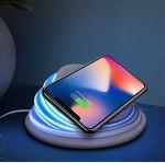 Ασύρματη Ρυθμιζόμενη Βάση Φόρτισης Κινητού Τηλεφώνου - Wireless Charger Mood Light