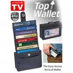 Πορτοφόλι με 16 Θήκες για Κάρτες - Top Wallet 16 Cards