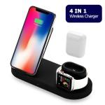 Ασύρματη Βάση Φόρτισης Apple 4 σε 1 - Charging Station for iPhone, iWatch, Earpods & USB