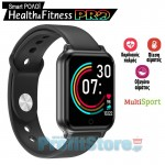 Pro Αδιάβροχο Αθλητικό Ρολόι με Καρδιομετρητή, Πιεσόμετρο, Οξύμετρο, Μέτρηση Βημάτων & Ποιότητας Ύπνου - Activity Tracker Smart Watch