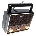 Ρετρό Φορητό Ραδιόφωνο - FM/AM/SW 3 Band DSP Radio USB/TF Mp3 Player
