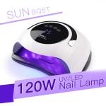 Επαγγελματική Λάμπα - Φουρνάκι για Ημιμόνιμο και Τζελ Νυχιών UV LED 120W με Οθόνη - SUN UV Nail Lamp