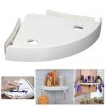 Έξυπνο Ράφι - Αντιολισθητικό Γωνιακό Ράφι Μπάνιου - Snap Up Bathroom