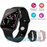 Αδιάβροχο Ρολόι με Οθόνη Αφής Αθλητικό με Καρδιομετρητή, Πιεσόμετρο, Οξύμετρο, Μέτρηση Βημάτων & Ποιότητας  Ύπνου - Activity Tracker Smart Watch