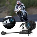 Ενδοεπικοινωνία Bluetooth Κράνους Μηχανής Vimoto V6 600mAh