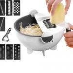 Πολυκόφτης Λαχανικών με Περιστρεφόμενο Καλάθι Αποστράγγισης - Multifunction Chopper