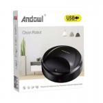 Έξυπνη Επαναφορτιζόμενη Ηλεκτρική Σκούπα Ρομπότ - USB Clean Robot Dust Suction Type