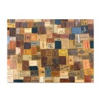 Δερμάτινο Χειροποίητο Χαλί Δαπέδου Leather Labels  120x180cm