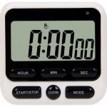 Ψηφιακό Χρονόμετρο Χρονοδιακόπτης με Αντίστροφη Μέτρηση, LCD Οθόνη, Ήχο Ειδοποίησης και Μαγνήτη