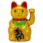 Χρυσή Γάτα Καλωσορίσματος - Feng Shui Welcome Cat 18cm