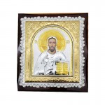 Ξύλινη Λουστραρισμένη Εικόνα Ιησούς Χριστός  33-601