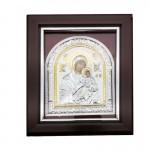 Ξύλινη Λουστραρισμένη Εικόνα Παναγία και Ιησούς Χριστός  3368