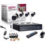 Σετ Καταγραφικό Δικτύου με 4 Κάμερες - CCTV Security Recording System