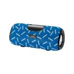 Ασύρματο Ηχείο Bluetooth Wster WS-2909 Μπλε με Γραμμές