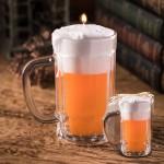 Πασχαλινή Λαμπάδα Ποτήρι Μπύρας 14x8cm